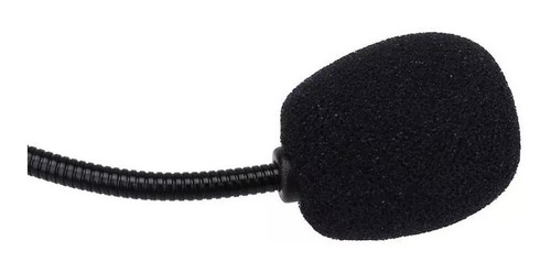 par de espuma para microfone headset lapela artika ak 010