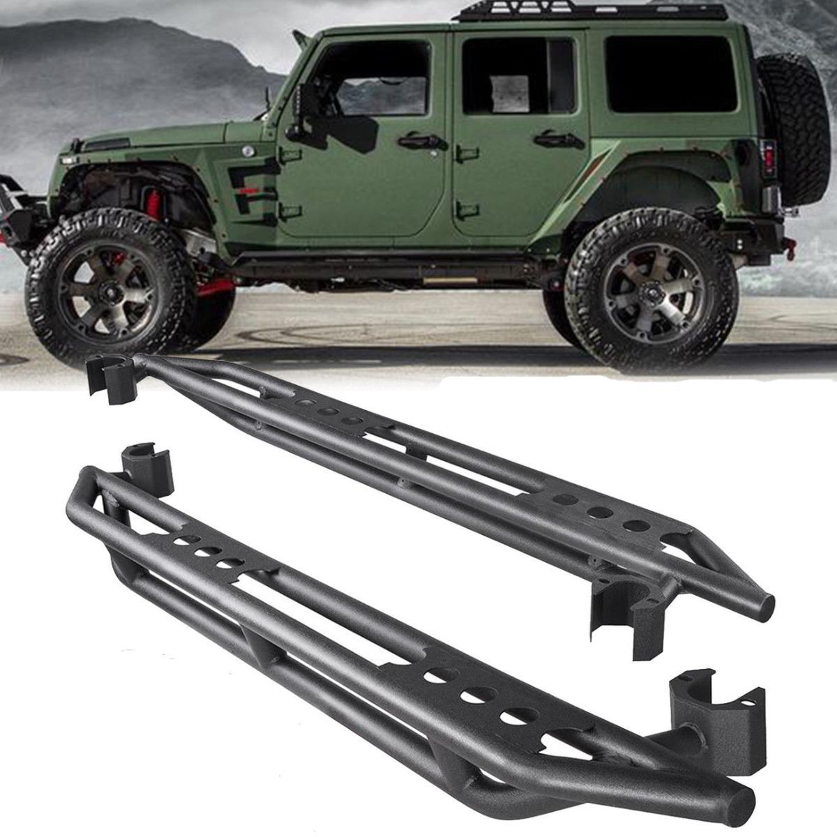 Par De Estribos Tubulares Jeep Wrangler 4 Puertas 2007
