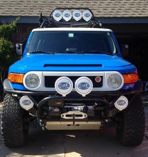 par de farol de milha hella comet 700ff jeep 4x4 fusca kombi