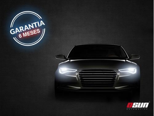 par de faros led osun® alta intensidad de 42w luz blanca diseño redondo 100% metal+bases  universal autos motos camiones