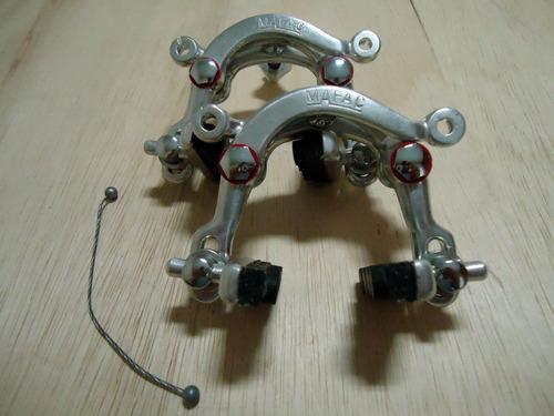 par de ferraduras originais mafac made in france sem uso