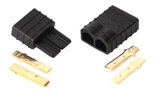 par de fichas conectores traxxas litio polímero autos rc