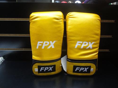 par de guanteletas box varios colores palomares genuino fpx