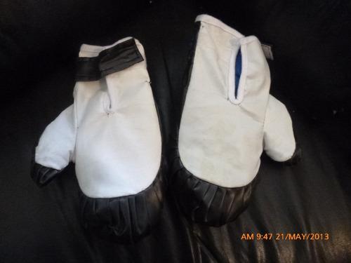 par de guantes  medida pequeña