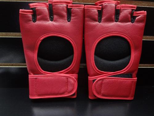 par de guantes vale todo en  piel  palomares genuino