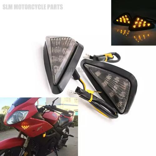 par de intermitentes para carenado de motocicleta
