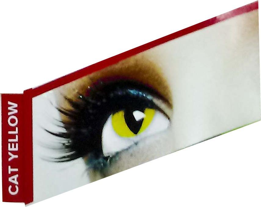 b6b64fa0e par de lentes de contato - clear colors fashion - catyellow. Carregando  zoom.
