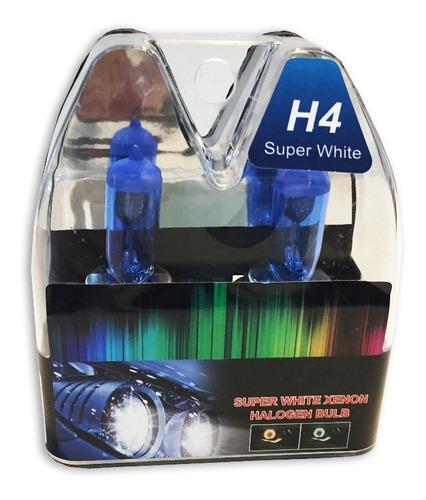 par de lâmpadas gol g2 95/03 super branca farol alto/baixo