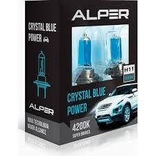 par de lâmpadas super branca alper h11 4200k 55w