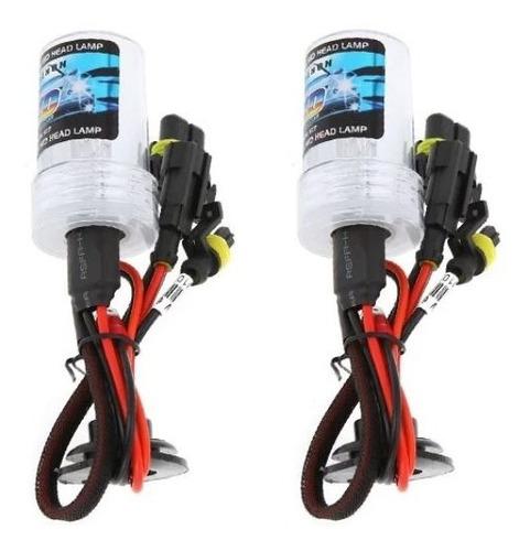 par de lâmpadas xenon reposição h3 8000k