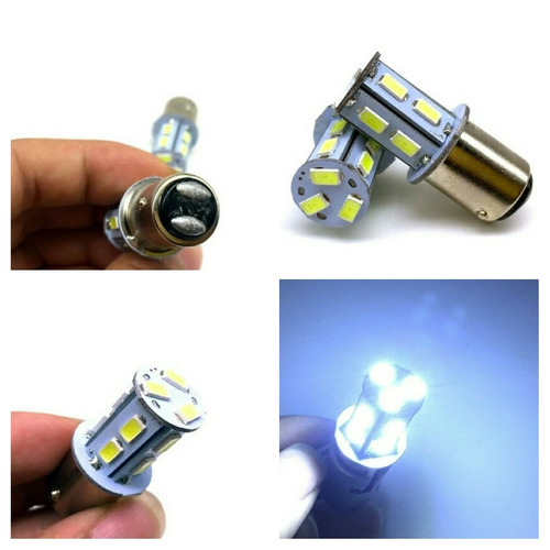 par de luz trasera stroboscopica bay15d 1156 ba155