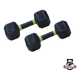 Par De Mancuerna Pesa Gym 10kg Kilos (total 20 Kilos)