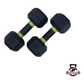 Par De Mancuerna Pesa Gym 8kg Kilos (total 16 Kilos)