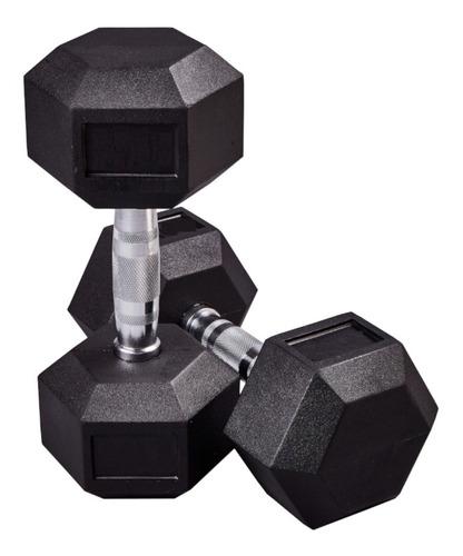 par de mancuernas hexagonales unofit 60 lb