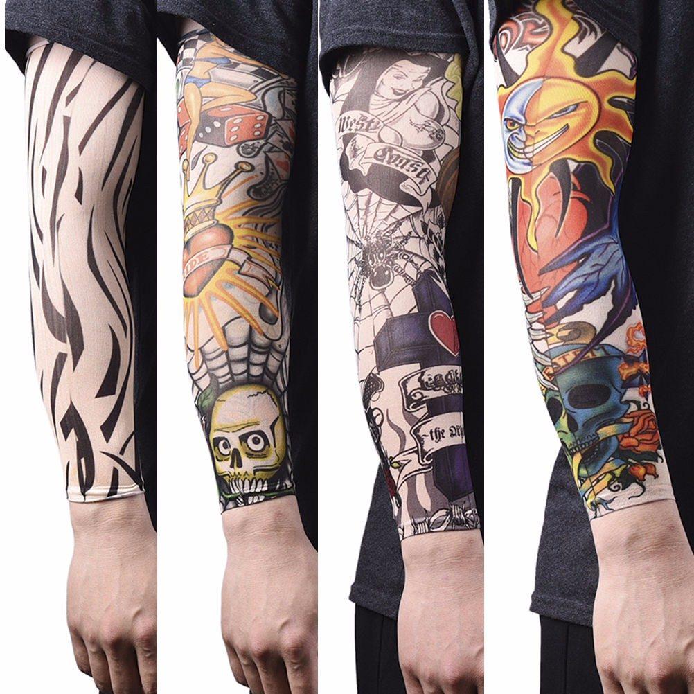 Par De Mangas Para Brazos De Tatuaje Para Hombre Tattoo Bs 035