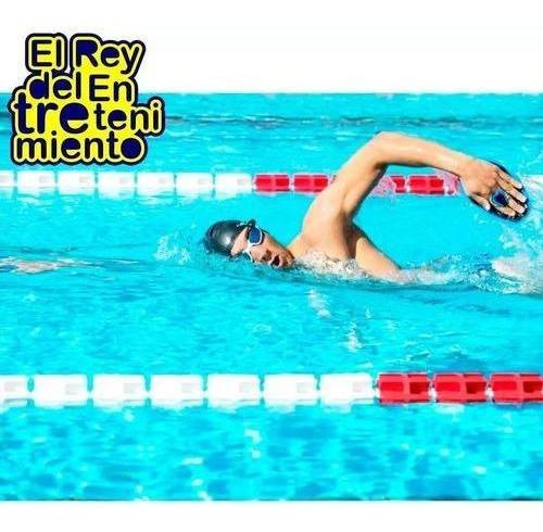 par de manoplas de natación piscina talles + regalo - el rey