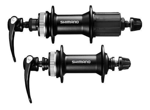 par de mazas de disco shimano 36h centerlock m4050 msi
