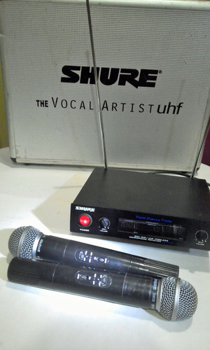 par de microfonos inalambricos shure sm58