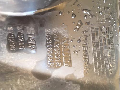 par de molduras dos milhas renault duster 2016 2017