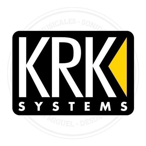 par de monitores de estudio krk rokit 5 g4 activo negros