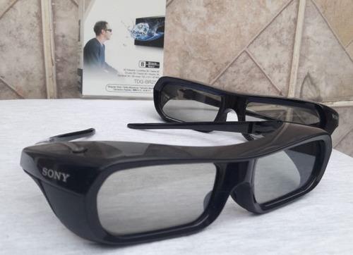 par de óculos 3d ativo original sony bravia hdtv tdg-br250