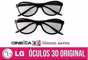 6f0a31fcb Par Óculos 3d Passivo Lg Ag F310 Dual Play Games Glasses - Óculos 3D no  Mercado Livre Brasil