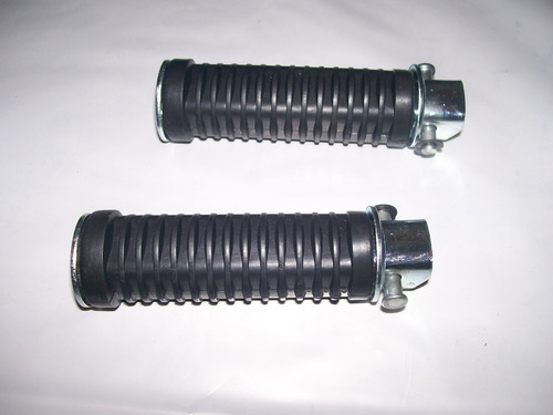 par de pedaleiras traseiras (2 peças) honda cb 400 450