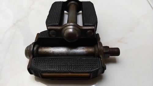 par de pedales para bicicleta americana 1/2 antiguos