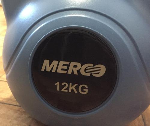 par de pesas rusas 12 kg kettlebell crossfit gym musculacion