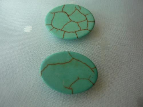 par  de piedras   turquesas   americanas   naturales