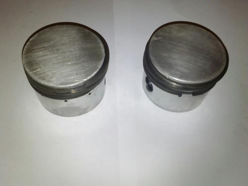 par de pistones con anillo para compresor huracán 3000
