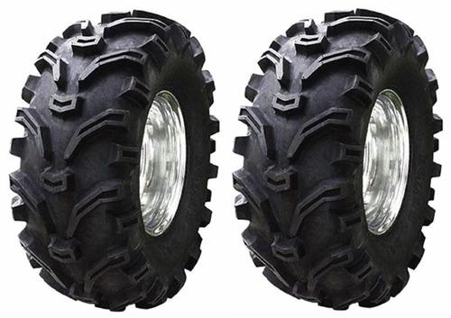 par de pneu kenda 25/8-12 quadriciclo suzuki polaris yamaha