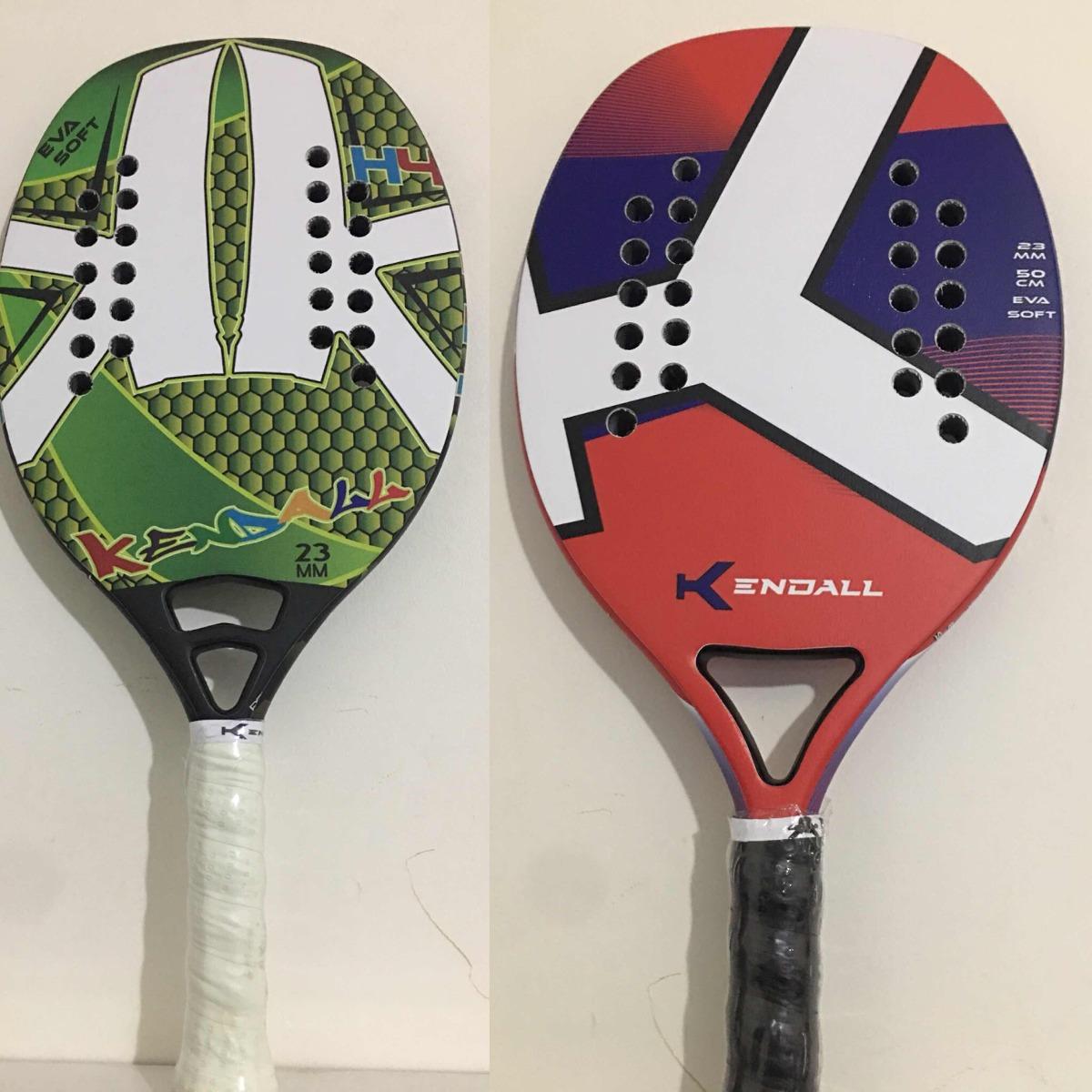 6892cb530 par de raquetes beach tennis kendall. Carregando zoom.