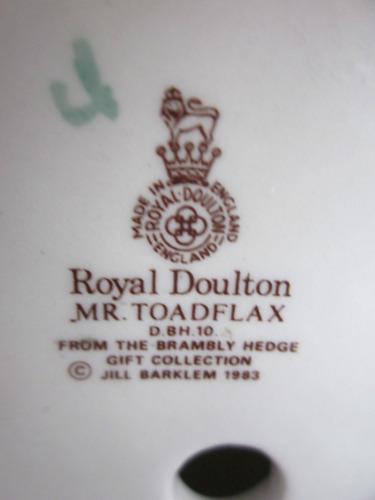 par de ratoncitos de coleccion royal doulton