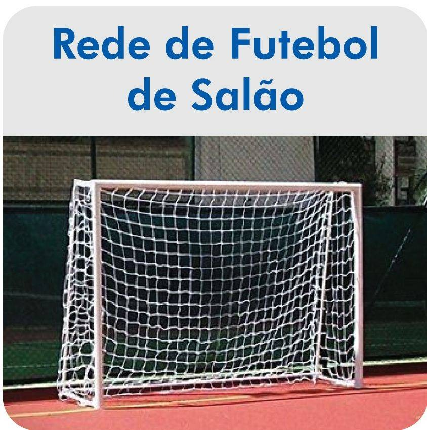 Par De Rede De Futsal Fio 2 - Pss Redes - R  104 fa19363e6a909