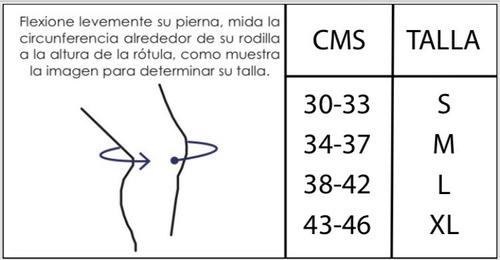 par de rodilleras deportiva compresión 7mm crossfit
