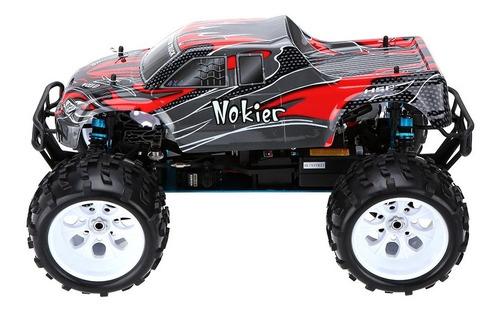 par de ruedas camioneta monster hsp 62012 redcat exceed 1/8