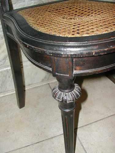 Par de sillas de estilo con esterilla u s 150 00 en - Sillas con estilo ...