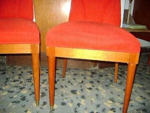 par de sillas estilo art deco
