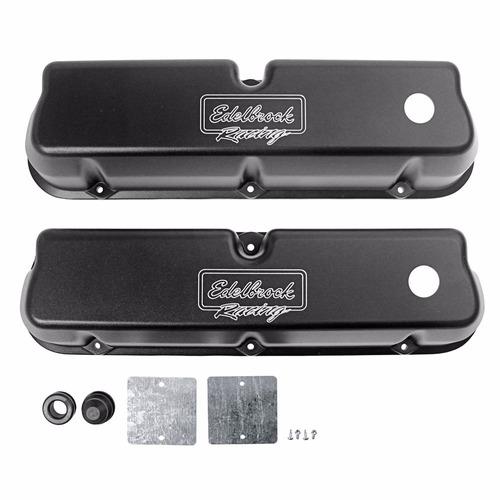 par de tapas de valvulas edelbrock para motores 289/302/351w