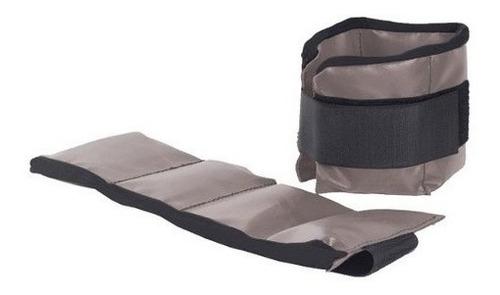par de tobilleras con peso 5 kilo ajustables ejercicios gym