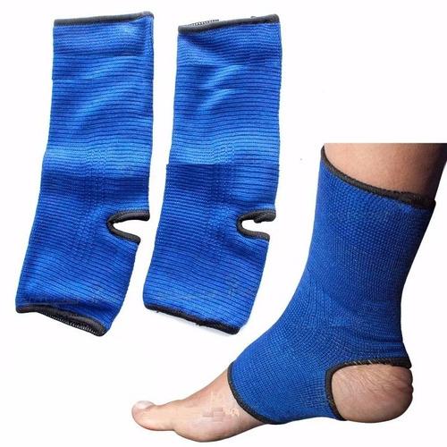 par de tornozeleira elástica esportiva fitness futebol volei
