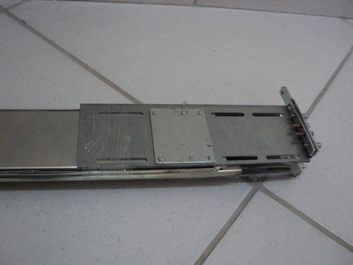 par de trilho servidor ibm b 80 21p4315 f74219 semi-novo