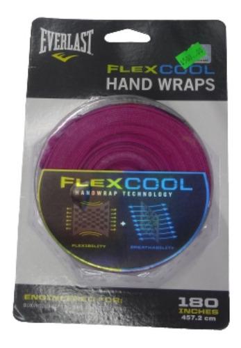 par de vendas box 5 m everlast flex cool rosa fpx