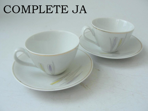 par de xicaras de cafe em porcelana renner donaire cchic