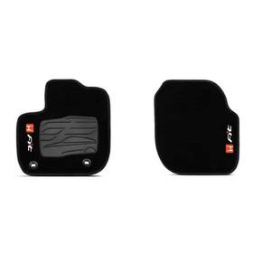 Par Dianteiro Carpete/tapete Personalizado Honda New Fit 2pç