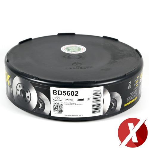 par disco freio dianteiro bd5602 vw polo 1.6 2012