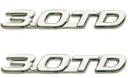 par dois emblemas 3.0 td hilux até 2004 toyota hilux