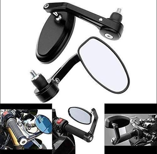 par espejos motocicleta retrovisores cafe racer scrambler