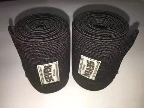 par faixa elástica velc bandagem joelhos agachamento #1